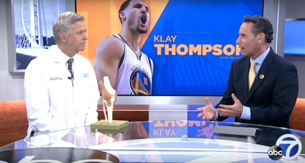 Dr. Belzer on Klay Thompson's ACL injury